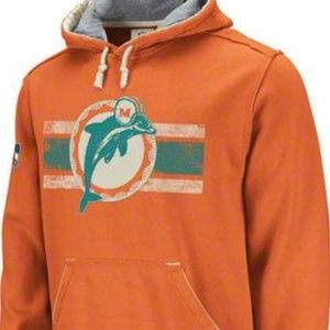 {2XL} NFL Miami Dolphins Vintage Collection Hoodie
